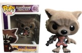 Guardians of the Galaxy Rocket Ravager Flocked Pop