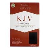 Bible Kjv Giant Print Reference Black Imm: Black by Bible