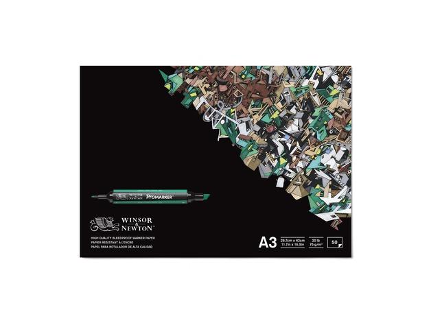 Winsor & Newton Bleedproof Paper Pad A3 (50 Sheets)