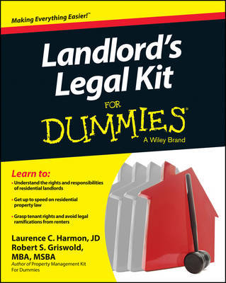 Landlord's Legal Kit For Dummies by Robert S Griswold image