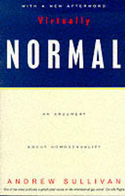 Virtually Normal by Andrew Sullivan image