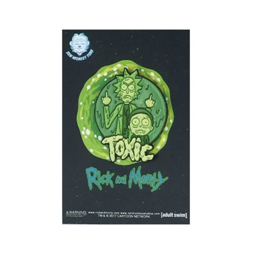 Rick and Morty - Toxic Lapel Pin