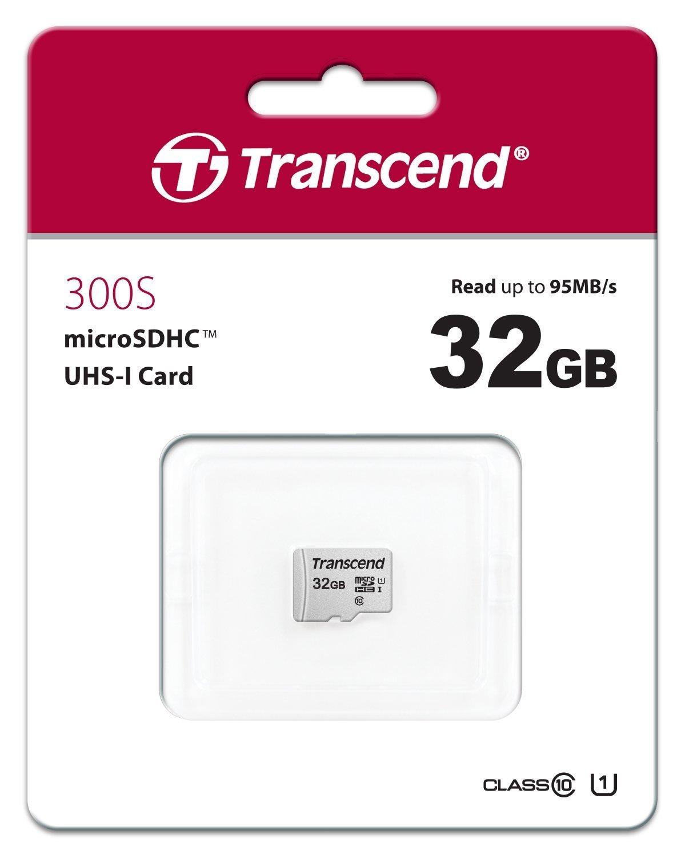 Transcend: 32GB 300S Class 10 UHS-I MicroSDHC Card image