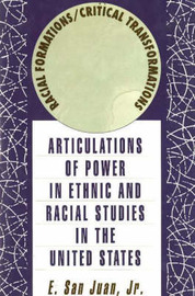 Racial Formations/Critical Transformations by E.San Juan image