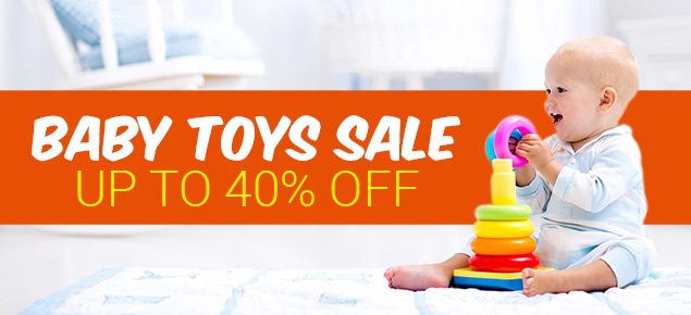 Toys Sale Up to 40% off