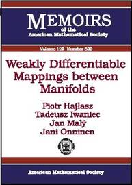 Weakly Differentiable Mappings Between Manifolds image