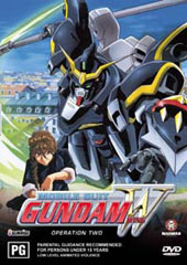 Gundam Wing - 2 on DVD