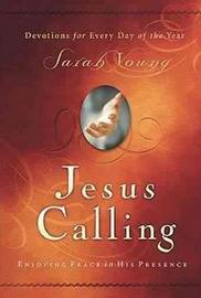 Jesus Calling (Large Print Leathersoft) by Sarah Young