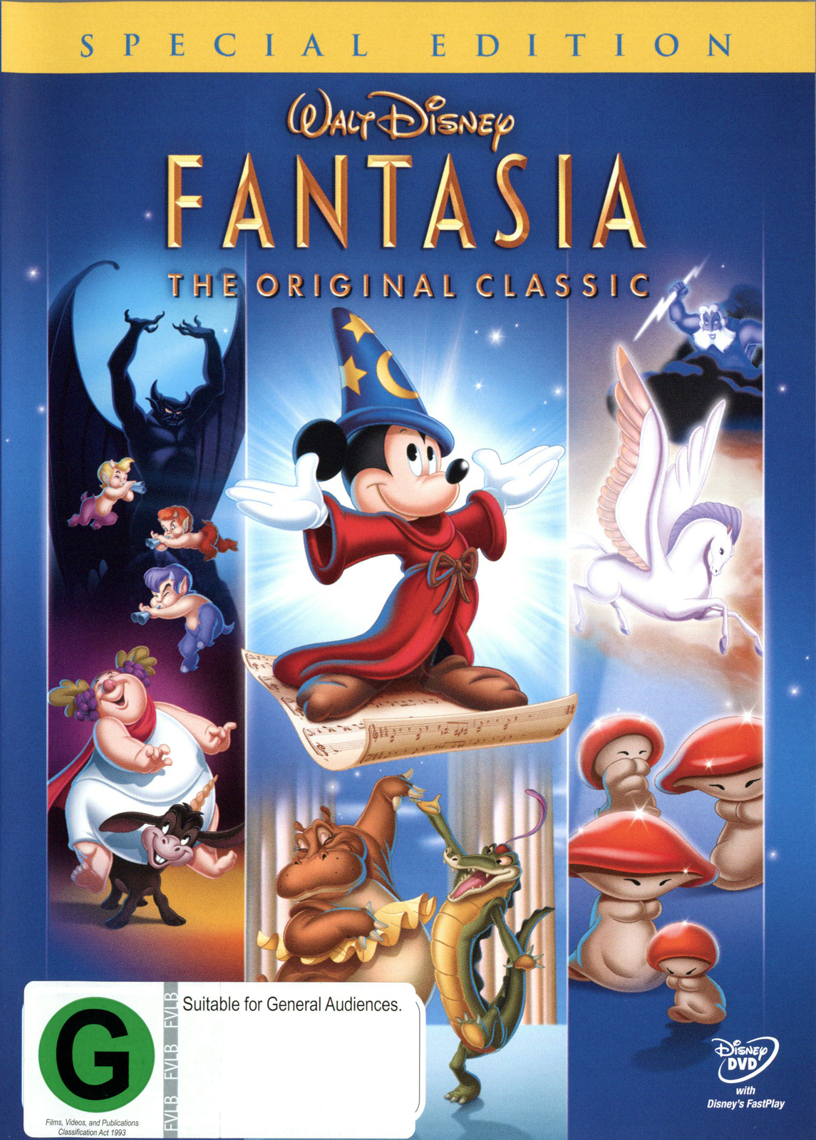 Fantasia - Special Edition on DVD image
