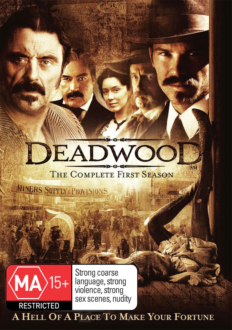 Deadwood - The Complete First Season on DVD image