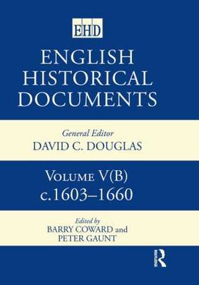 English Historical Documents, 1603-1660