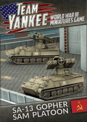 Flames of War: SA-13 Gopher SAM Platoon (x2)