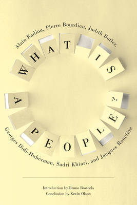 What Is a People? by Judith Butler