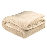 Bambury Queen Ultraplush Blanket (Linen)