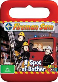 Fireman Sam - A Spot of Bother on DVD image