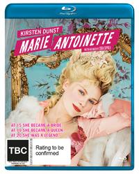 Marie Antoinette on Blu-ray