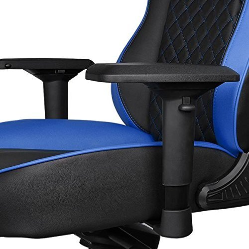 Thermaltake GT Fit Gaming Chair (Blue and Black) for  image