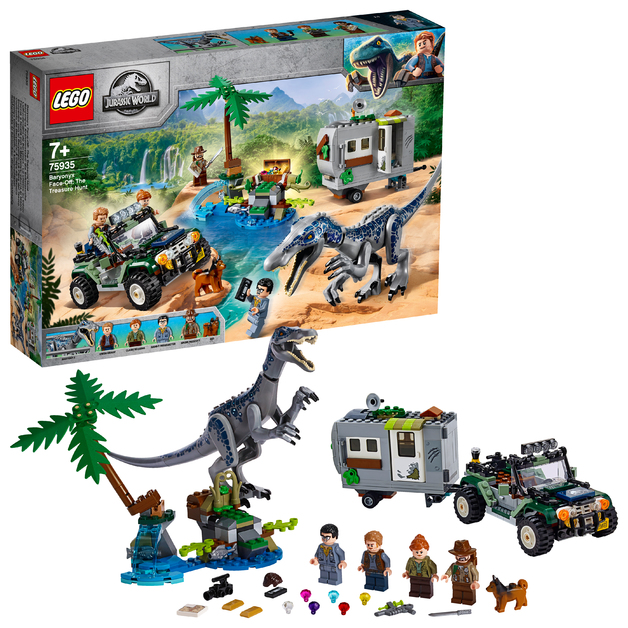 LEGO Jurassic World: Baryonyx Face-Off - The Treasure Hunt (75935)