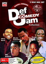 Def Comedy Jam Collection - All Stars 1 (3 Disc Box Set) on DVD