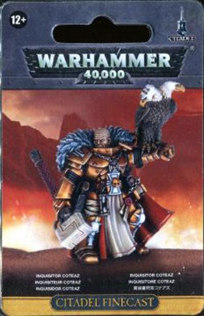 Warhammer 40,000 Inquisitor Coteaz image