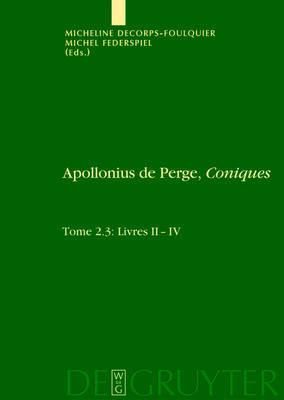 Livres II-IV. A0/00dition Et Traduction Du Texte Grec