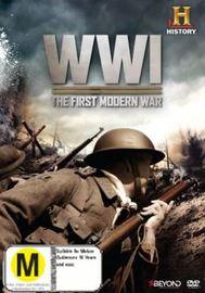 World War 1: The First Modern War DVD