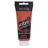 100ml Reeves Intro Acrylic - Red Ochre