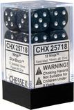 Chessex Speckled 16mm D6 Dice Block: Ninja