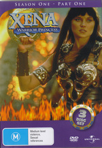 Xena - Warrior Princess: Season 1, Part 1 (3 Disc) on DVD