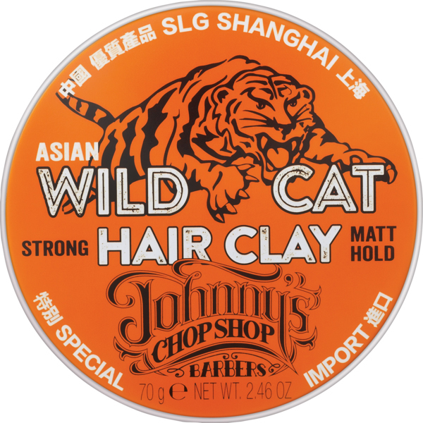 Johnny's Chop Shop - Wild Cat Hair Clay (70g) image