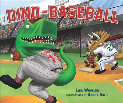 Dino-baseball Library Edition by Lisa Wheeler image