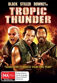 Tropic Thunder on DVD