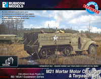 Rubicon 1/56 M3/M3A1 Expansion - M21 MMC & Tarpaulin Set