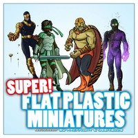 Arcknight Flat Plastic Minis: Supers!