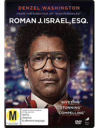 Roman J. Israel, Esq on DVD