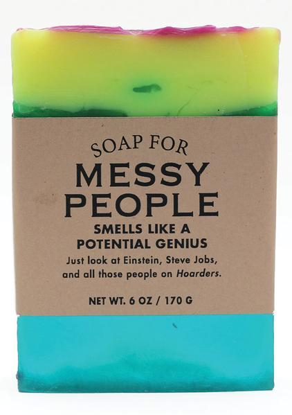 Whiskey River Co: Soap - Messy People