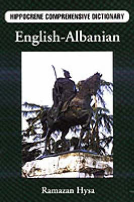 English-Albanian Comprehensive Dictionary by Ramazan Hysa image