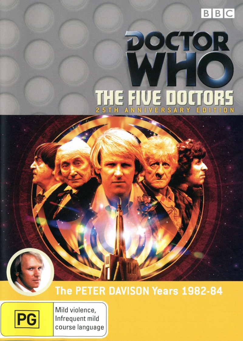 Doctor Who (1983) - The Five Doctors: 25th Anniversary Edition (2 Disc Set) on DVD image