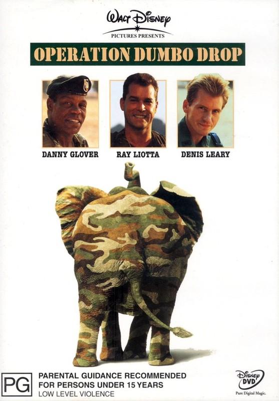 Operation Dumbo Drop on DVD