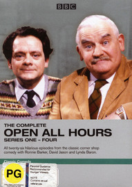 The Complete Open All Hours - Series 1-4 (4 Disc Set) on DVD image