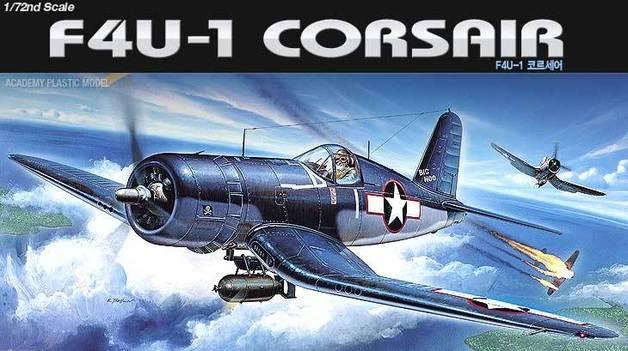 Academy F4U-1 Corsair 1/72 Model Kit