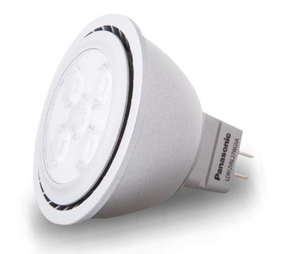 Panasonic 6W Soft Warm LED Downlight Bulb - GU5.3