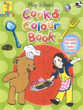 Play School Cook and Colour Book by Play School image