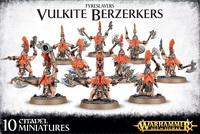 Fyreslayers Vulkite Berserkers