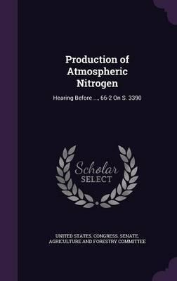 Production of Atmospheric Nitrogen image
