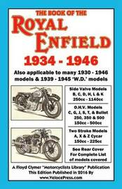 Book of the Royal Enfield 1934-1946 by R E Ryder
