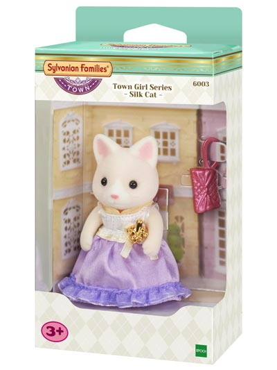 Sylvanian Families: Silk Cat Town Girl