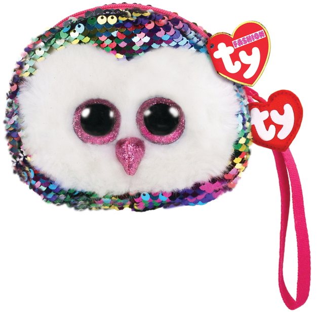 Ty Fashion: Sequin Wristlet - Owen Owl