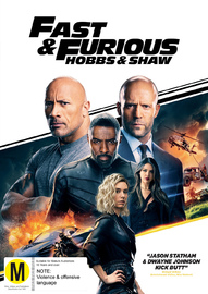 Fast & Furious Presents: Hobbs And Shaw on DVD image