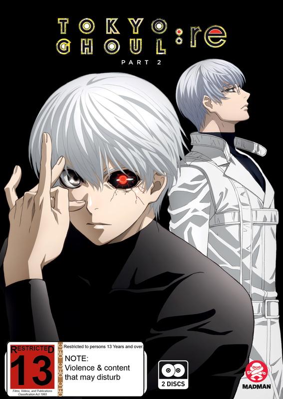 Tokyo Ghoul:Re (Season 3) Part 2 (Eps 13-24) on DVD